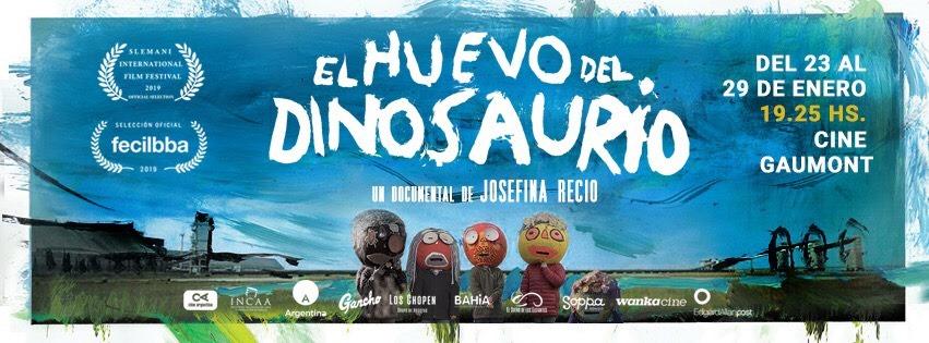 Estreno de El huevo del dinosaurio en Argentina